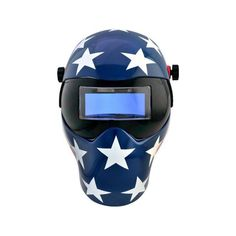 """The Save Phace I-Series """"Patriot"""" Helmet is precisely designed to protect the eyes, face, and neck while welding. It features Auto-darkening filters (ADF) with 10 passive lens with shades for better Welding Classes, Welding Jobs, Welding Projects, Art Projects, Welding Ideas, Metal Projects, Project Ideas, Welding Crafts, Shielded Metal Arc Welding"""