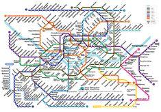 26 Best Subway Map images