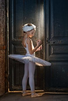waiting - so pretty, if I have a little girl - or boy haha - I want her to be a ballerina. :)