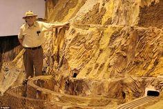 驚異的!たった一人で築き上げた世界最大の鉄道模型「Northlandz」