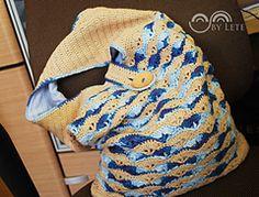 Ravelry: She Sells Sea Shells Crochet Bag pattern by Justyna Lorkowska