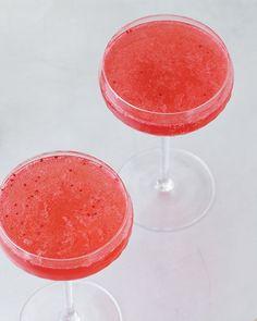 Cranberry Vodka Fizz - Cranberry Simple Syrup (Recipe), Vodka, Lime Juice, Sparkling Water.