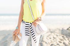 Casual Beach Look for Summer Nights - Mckenna Bleu