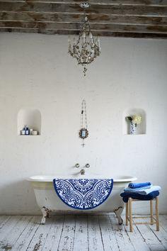 Boho bath