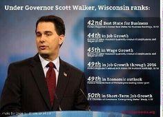 """A moron, a failure, & a criminal walk into a bar.  The bartender says, """"Hello, Governor Walker!""""  #p2"""