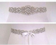 Crystal Bridal sash bruiloft jurk riem sash