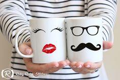 Wimpern Fashion Quote Mug Beauty Guru Mug rote von RubyRidgeStudios