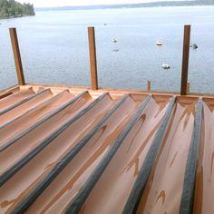 RainEscape Deck Drainage System Butyl Tape - x Deck Stairs, Deck Railings, Under Deck Waterproofing, Under Deck Roofing, Under Deck Drainage System, Ideas Terraza, Under Decks, Deck Construction, Front Deck