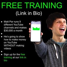 Earn Money Off Youtube Free Webinar Make Easy Money, Hobbies That Make Money, Make Money From Home, Make Money Online, Quotes Mind, Quotes Thoughts, Cool Things To Make, How To Make, Things To Sell