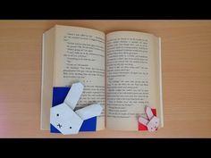 折り紙 キティちゃん しおり 簡単な折り方(niceno1)Origami Hello Kitty bookmark - YouTube