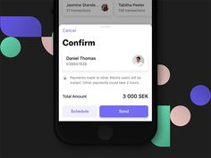 Confirm Payment designed by Joshua Thorley. Mobile Ui Design, Ios App Design, User Interface Design, Web Design, Mobile App Ui, Ui Design Inspiration, Popup, Mobile Application, Design Reference