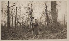 Filming the destruction left by the Battle of Belleau Wood, c. 1918