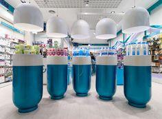 Garrós Pharmacy by MARKETING-JAZZ, Lérida – Spain » Retail Design Blog