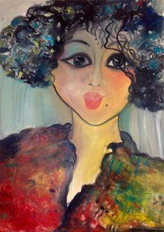 #Figurative# oil on canvas# by# Britt Boutros Ghali#www.brittbg.com