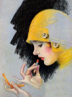 Illustration -1920's - by Charles Gates Sheldon (American, 1889-1960) - @~ Watsonette MAUD