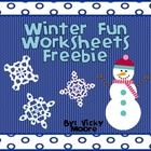 This 10 page * FREEBIE* has a variety of activites to use in your classroom during the winter to make learning fun.Included are:*cover/credit pag...