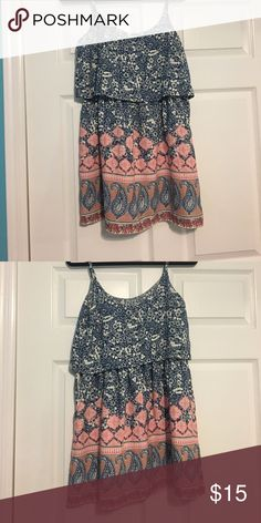 Abercrombie and Fitch sundress Cute printed sundress!! Abercrombie & Fitch Dresses Mini