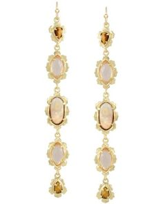 Zarita Long Earrings in Bali - Kendra Scott Island Escape preview, in stores and online April 24, 2013 at 5pm CST.
