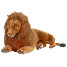"Hansa Plush - 70"" Extra Large Laying Male Lion * You can get more details by clicking on the image. (This is an affiliate link) #Puppets"