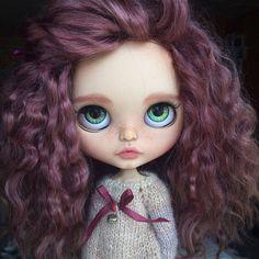 Joy OOAK zakázku falešný Blythe panenka