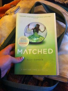 Matched by Ally Condie Started Nov 24th,2013  I've had 2 friends already read my copy so it's time I read it.  Review TBA
