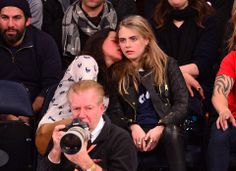Cara Delevingne and Michelle Rodriguez Get Drunk, Raunchy at Knicks Game