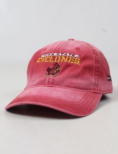 Show off your Iowa State Cyclone spirit in this red hat! Iowa State Cyclones  ab479831ce0d
