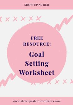 To live your best life, you must set goals. This FREE worksheet will help you set, track and achieve your goals