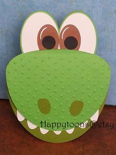 La invitación de partido emergente buen dinosaurio por HappyToons