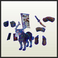 DotA 2 - Enduring War Dog Papercraft Free Download - http://www.papercraftsquare.com/dota-2-enduring-war-dog-papercraft-free-download.html
