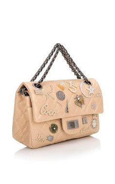 a1b84984e75b Runway Edition Chanel Gold Aged Calfskin Reissue Lucky Symbol 224 Flap Bag  by Madison Avenue Couture for Preorder on Moda Operandi