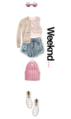 """#266"" by smiljana-s ❤ liked on Polyvore featuring MANGO, Scotch & Soda, Converse, MCM, women's clothing, women's fashion, women, female, woman and misses"