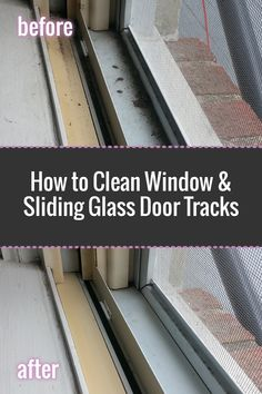 How to clean window tracks: Easy step-by-step process with photos #MiFabuloso #ad