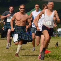 Kilted Running in the sun!