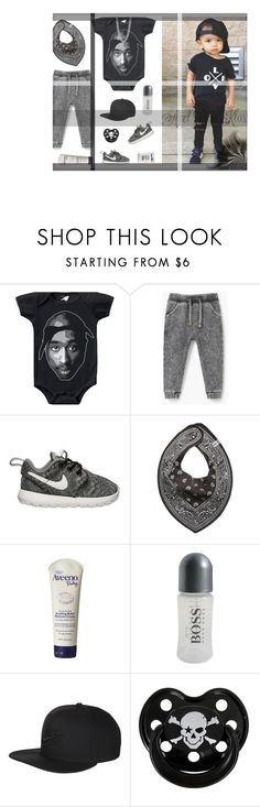 """Axel's OOTD"" by rocio-rivera ❤ liked on Polyvore featuring MANGO, NIKE, The First Years, Aveeno, BOSS Hugo Boss, Rock Star Baby, David Yurman, men's fashion and menswear"