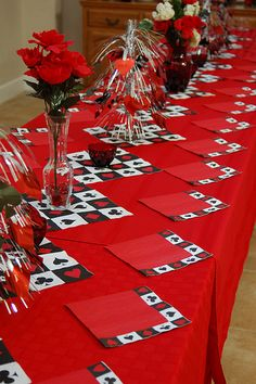 Counselor breakfast?  Laura Maher, check this site out  :)  The dangling cards are cute (see other picts.)