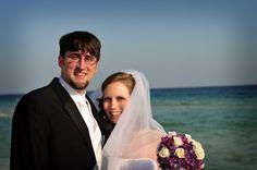 Such a sweet couple! We'd love to help you plan your dream destination beach wedding #hiltonpenscolabeachweddings
