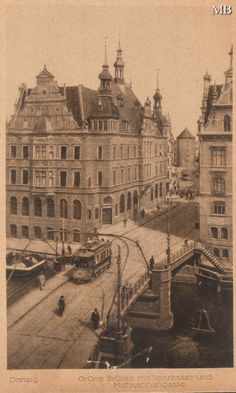 Old Pictures, Old Photos, Vintage Photos, Vintage Stuff, Danzig, Germany And Prussia, Gdansk Poland, Tatra Mountains, Classical Architecture