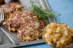 Thanskgiving-Hanukkah Recipes: Meyer Lemon Applesauce