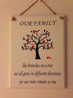 Quote ' Like branches on a tree we all grow in different directions yet our roots remain as one.Available in a range of colours and sizes. Also add a note to the personalise box with how many owls you would like.