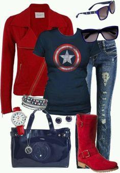 I love it... Captain America