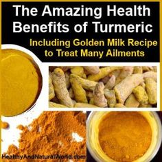The Amazing Health Benefits of Turmeric – Including Golden Milk Recipe to Treat Many Ailments. It has been around for centuries in Ayurvedic and Chinese medicine to treat a wide variety of health problems, going from pain control to fighting cancer. Herbal Remedies, Health Remedies, Natural Cures, Natural Health, Psoriasis Diet, Turmeric Health Benefits, Tumeric Latte Benefits, Golden Milk, Nutrition