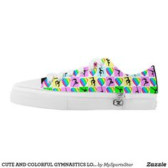CUTE AND COLORFUL GYMNASTICS LO TOP SNEAKERS Watch your Gymnast dazzle, sparkle and shine in our cool and colorful Gymnastics sneakers. Only available here at Zazzle! https://www.zazzle.com/collections/gymnastics_sneakers-119394231113334715?rf=238246180177746410&CMPN=share_dclit&lang=en&social=true #Gymnastics #Gymnast #WomensGymnastics #Gymnastsneakers #Gymnasticssneakers #Lovegymnastics