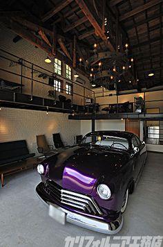 株式会社エイ出版社 カリフォルニア工務店|【Works】1920's Garage