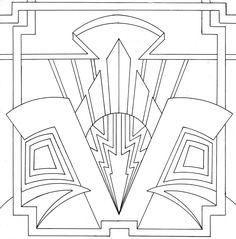 Art Deco template