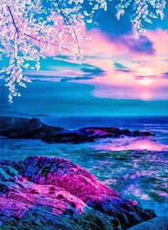 Super ideas for fantasy landscape sky nature Sunset Wallpaper, Landscape Wallpaper, Scenery Wallpaper, Cute Wallpaper Backgrounds, Pretty Wallpapers, Desktop Wallpapers, Fantasy Art Landscapes, Fantasy Landscape, Beautiful Landscapes
