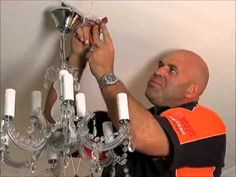 Episode Features: A Do-It-Yourself guide of how to install a chandelier. Chandelier, Seasons, Youtube, Fictional Characters, Candelabra, Chandeliers, Seasons Of The Year, Fantasy Characters, Candle Holders