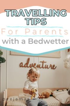 Whether you are potty training a girl or a boy, traveling with a child who wets the bed can be tough. Don't let night time accidents be a damper on your adventures. Follow these tried and true tips and tricks for families traveling with a child who is being potty trained. Visit peejamas.com to learn more about eco-friendly reusable overnight training pants for kids! #pottytrainingboys #travelingwithkids #RVing #vacationingwithsmallchildren