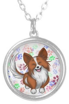 #Zazzle                   #love                     #Puppy #Love #Personalized #Necklace                Puppy Love Personalized Necklace                                              http://www.seapai.com/product.aspx?PID=1147205