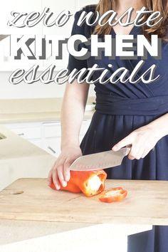 Zero Waste Kitchen Essentials from www.goingzerowaste.com